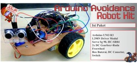Arduino Avoidance Robot Kit